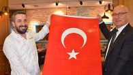 Esnafa Türk Bayrağı…