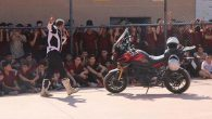 Öğrenciler;  güvenli motosiklet  kullanımını öğrendi