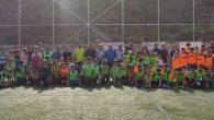 Ortaokul öğrencileri arasında futbol turnuvası