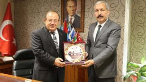 Karahan'dan Mardinli'ye tebrik ziyareti