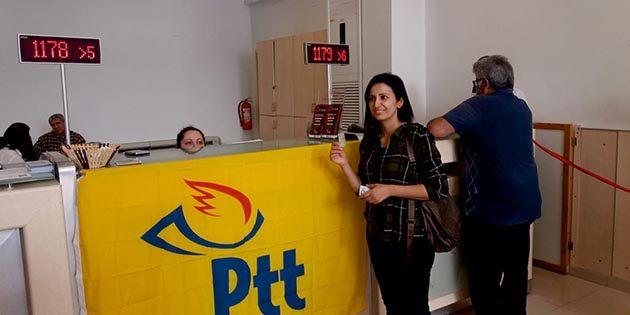 Antakya PTT'sinin 178.müşterisine;
