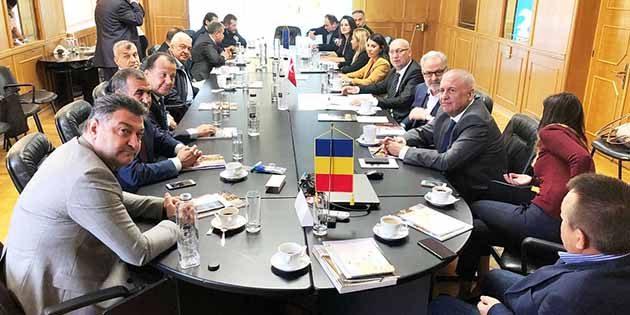Romanya'daki İTSO Heyeti