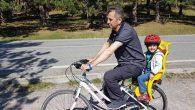 Ankara sokaklarında bisikletli Milletvekili!
