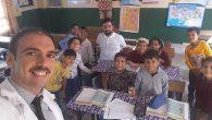 Varışlılı çocuklara sürpriz ziyaretçi