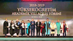 MKÜ'ye 'YÖK Üstün Başarı Ödülü'
