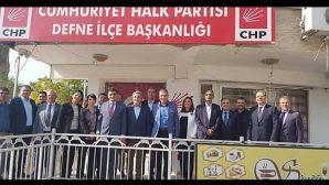 Defne-CHP'de aday adayları bir araya geldi