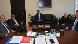 Başsavcı ve 2 başkan ziyareti