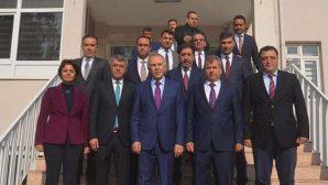Vali Ata, Antakya Belediyesi'ne veda etti