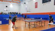Masa Tenisi Şampiyonu  Öğretmenler Kupa Aldı