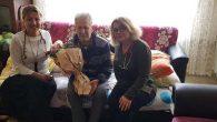 Hasta Emekli Öğretmenlere  Yataklarında Ziyaret