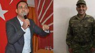 CHP İl Başkanı Özgün'ün askeri  üniforma ile ilk fotoğrafı