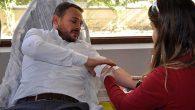 Ak Parti'den Kızılay'a kan desteği