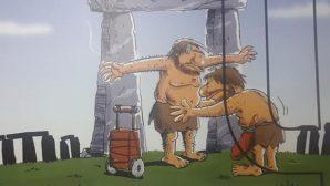 "Defneli Karikatürist  ""Turizm Karikatür Albümünde"""