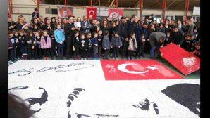 Miniklerden, Mozaikle Atatürk…