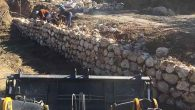 Samandağ'da yeni yol açımı ve asfalt hizmetleri