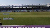 Afyon'da boş tribünlere maç