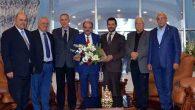 MKÜ Vakfı Yönetiminden Rektör'e tebrik ziyareti