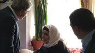 Başkan Yaman'dan yaşlılara ziyaret