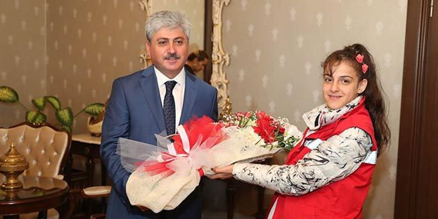 Türkiye 1.si Suriyeli kız: