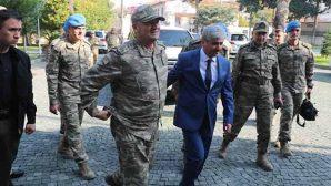 Zeytin Dalı Komutanı Org. Temel Hatay'da