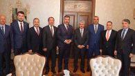 AKP'li 8 Başkan Vali Doğan'ı ziyaret etti