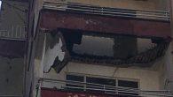 İki evin balkonu çöktü …