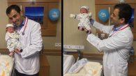Aile, bebeğe hastanenin  ismini verdi!