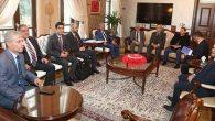 Suriye Geçici Hükümet Başbakanı Hatay'da