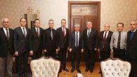 HAMOK Başkanları Valilik'te