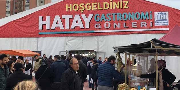 İstanbul'da Hatay Gastronomi Günleri