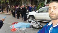 İş makinası motosiklete çarptı: 1 ölü