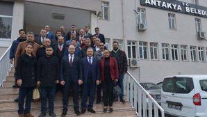 Kimyeci'ye  AKP Heyeti Ziyareti