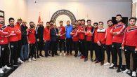 MKÜ futbol takımı 1.lig'e çıktı