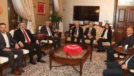 AKP Milletvekillerinden tebrik ziyaretleri