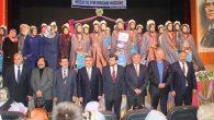 Antakya'da 31 hafize taç giydi