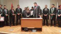 İskenderun'da 5 Yeni Avukat Cübbe giydi