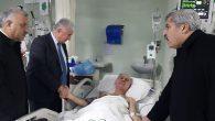 AKP'li 3 Vekil ziyareti  İlçe Başkanına…