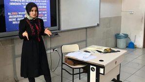 """Öğrencilere """"Akran Zorbalığı""""  bilinci"""