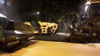 Büyükşehir asfalt ekipleri