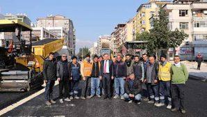 Atatürk Caddesine  Beton Asfalt…