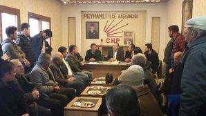 CHP İl Yönetimi Reyhanlı'da toplandı: