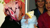 Antakya'da yılın ilk bebeği erkek