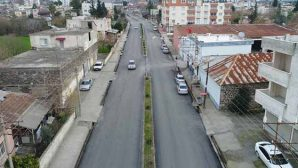 Erzin'e asfalt takviyesi …