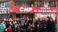 CHP Kadın Kolu G.Bşk. Köse Hatay'da…