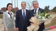 Vali Doğan, MKÜ ve İSTE'yi ziyaret etti