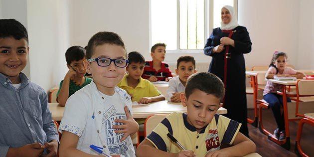 Sığınmacı çocuklar…