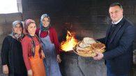 Savaş, çevre mahalle kadınlarıyla…