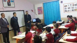 Yılın İlk Okul Ziyareti Yeşilpınar'a