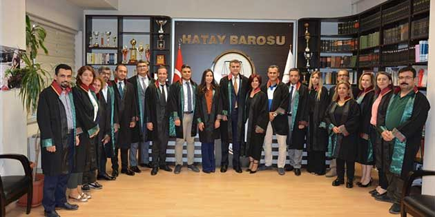 Hatay Barosu ve 70 Baro ortak imzasıyla deklarasyon: