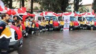 Hatay'a 6 ambulans